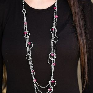 Jewelry - Footloose and Fancy Free - Pink Necklace Set